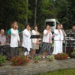 Senorenteamet spelar på sommargården Sommarro, Kisa (2010)