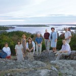 Senorenteamet med utsikt över Gåsefjärden (2007)